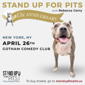 Stand Up For Pits @ Gotham Comedy Club | New York | New York | United States