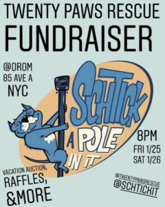 Schtick A Pole In It Fundraiser @ DROM NYC